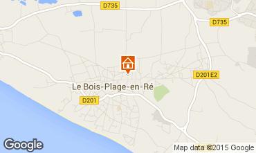 Map Le Bois-Plage-en-Ré House 6979
