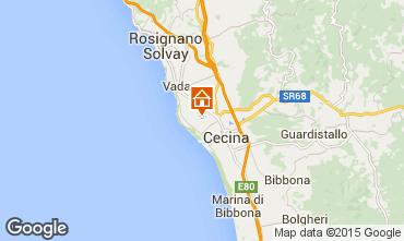 Map Cecina Apartment 33239