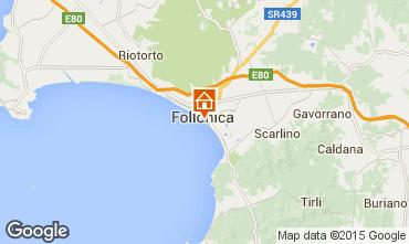 Map Follonica Apartment 80760
