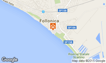 Map Follonica Apartment 80760