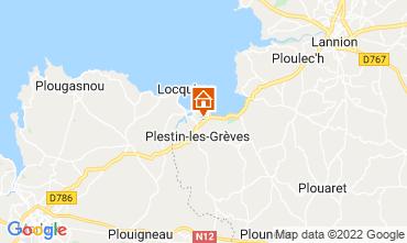 Map Plestin les Grèves House 14528