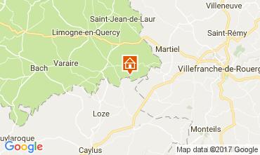 Map Saint-Cirq-Lapopie House 78663