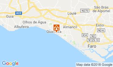 Map Quarteira Apartment 95466