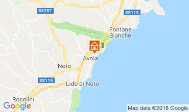 Map Avola Villa 116015