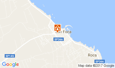Map San Foca Apartment 103288