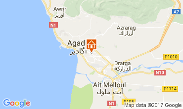 Map Agadir Apartment 29452