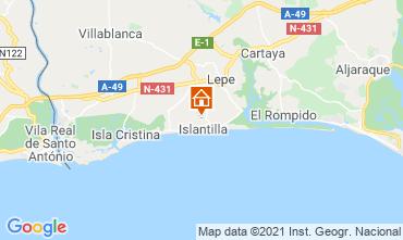 Map Islantilla Villa 57396
