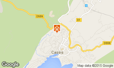 Map Cassis Apartment 8405