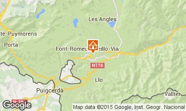 Map Font Romeu Apartment 4157