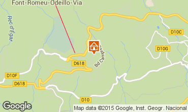Map Font Romeu Apartment 4157
