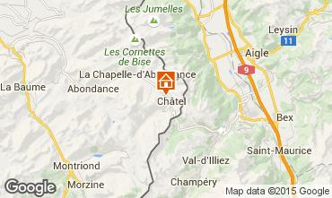 Map Ch�tel Chalet 73656