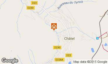 Map Châtel Chalet 73656