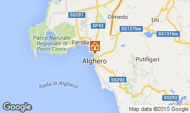 Map Alghero Apartment 84156
