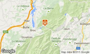Map Charmey Chalet 72762