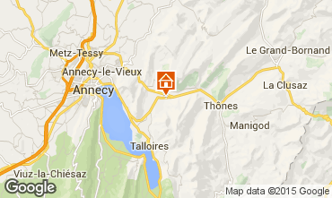 Map Annecy Chalet 845