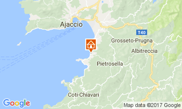 Map Porticcio Villa 87260