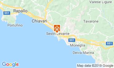 Map Sestri Levante Apartment 117859