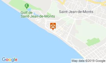 Map Saint Jean de Monts Apartment 51553