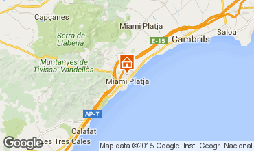 Map Miami Playa Villa 88948