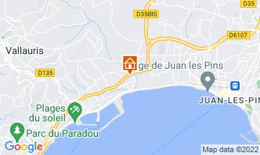 Map Juan les Pins One-room apartment 47153