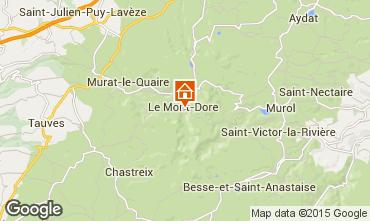 Map Le Mont Dore Apartment 56666