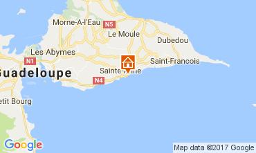 Map Sainte Anne (Guadeloupe) Apartment 73124