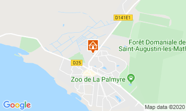 Map Les Mathes Apartment 81259