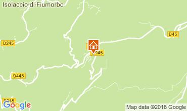 Map Pietrapola les Bains Apartment 114342