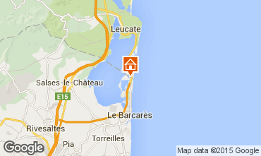 Map Port Barcares Villa 99637