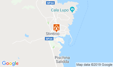 Map Stintino Apartment 119678