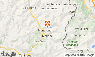 Map Morzine Chalet 67065