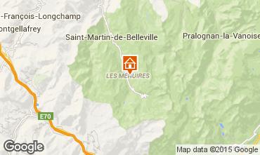 Map Les Menuires One-room apartment 1759