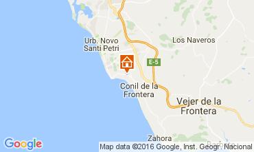 Map Conil de la Frontera Villa 104290