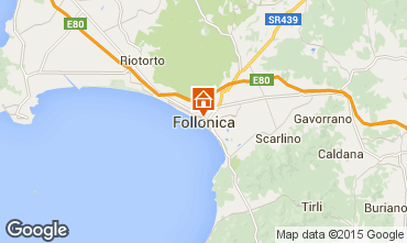 Map Follonica Apartment 80818