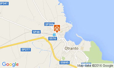 Map Otranto Apartment 42943