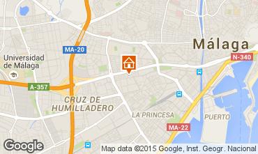 Map Málaga Apartment 62297