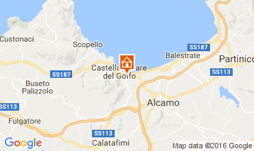 Map Castellammare del Golfo House 67481