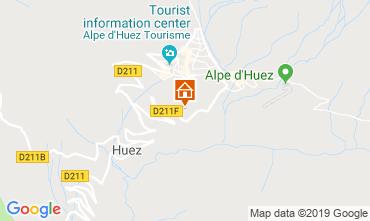 Map Alpe d'Huez Apartment 117531