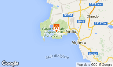 Map Alghero Apartment 78936