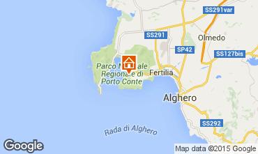 Map Alghero Apartment 78936