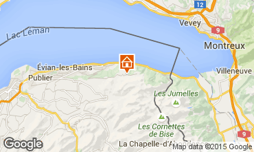 Map Thollon Les Mémises Apartment 74513