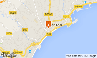 Map Menton Apartment 5403