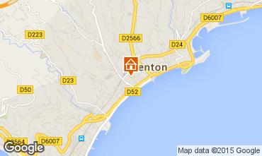 Map Menton Apartment 5403