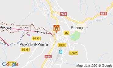 Map Briançon Apartment 117714