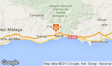 Map Nerja Vacation rental 65400