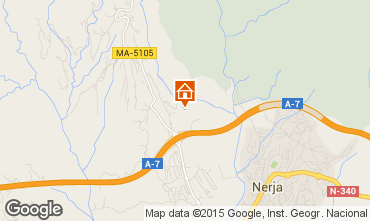 Map Nerja Vacation rental 65400