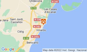 Map Vinaròs Villa 85085
