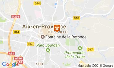 Map Aix en Provence Apartment 88090