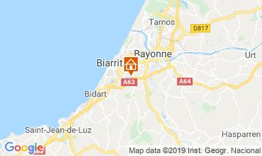 Map Biarritz Villa 119911