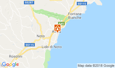 Map Avola Apartment 61098